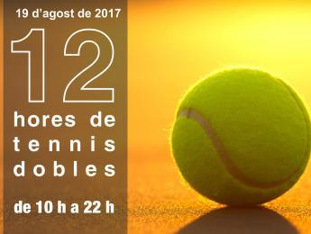 Les 12 hores de tennis dobles ja són aquí