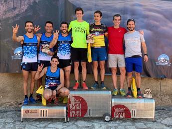 Tercera posició del Club Natació Olot a la cursa Trailsacabra 2019