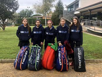 El Cadet A aconsegueix una gran victòria davant el Club Tennis Girona