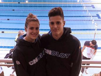 El Club Natació Olot aconsegueix una medalla de plata en el Campionat d'Espanya a Gijón