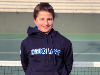 Roger Prat campió del campionat de Nadal del Club Tennis Belulla de Granollers