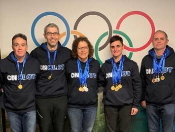 Els màsters de natació tornen amb 5 medalles d'or del Campionat de Catalunya Open d'hivern