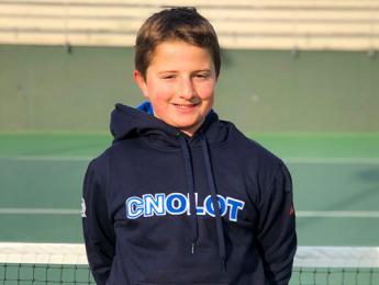 Roger Prat classificat pels vuitens de final del Campionat de Catalunya aleví de tennis