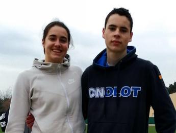 Clara Aulinas i Nil Roig convocats per la Federació Catalana de Triatló per a les proves de presa de temps al CAR de Sant Cugat
