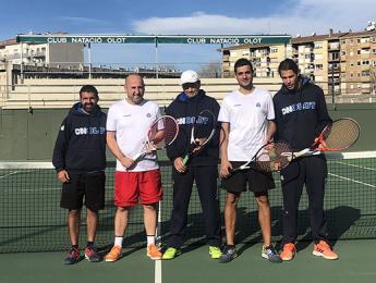 L'equip de tennis absolut masculí passa a semifinals del Campionat de Catalunya de 3a categoria