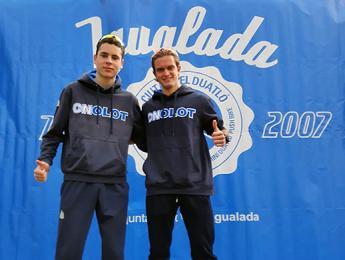 Abel Serra i Nil Roig participen a la 13 edició de la Duatló Sprint Ciutat d'Igualada