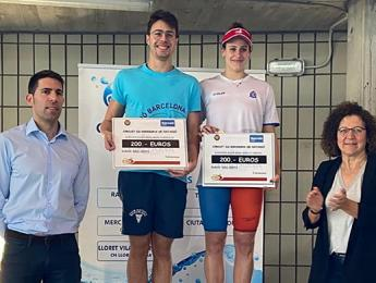 Lídia Huete guanya el Trofeu Tresserras per punts FINA en categoria femenina celebrat a Banyoles
