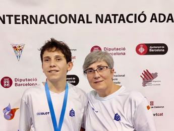Pere Ribes aconsegueix la medalla de plata en els 200 esquena al Trofeu Internacional de natació adaptada a Barcelona