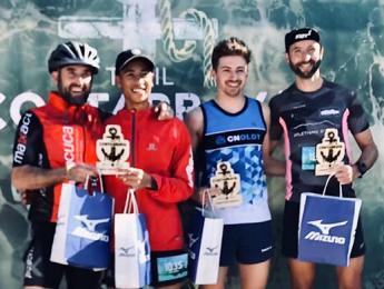 Pol Espinosa acaba en la primera posició absoluta en l'express de 13 km de la Trail Costa Brava