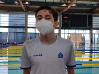 Pere Ribes aconsegueix la 2a posició en els 200 m esquena absoluts al Campionat Internacional de natació adaptada Ciutat de Barcelona