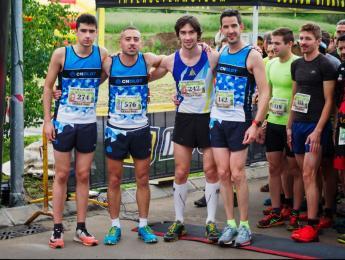 8 atletes del CNO en la Cursa de la Fageda d