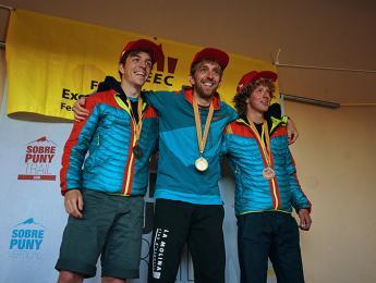Isaac Barti tercer al Campionat de Catalunya de Curses Verticals