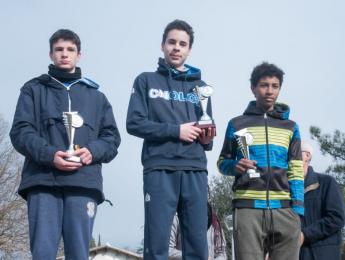 Podi per 8 atletes del CNO en el Gran Premi Gironí de Cros