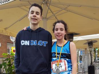 3a posició per Nina Roig a la 40a Cursa de Sant Andreu