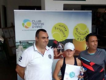 Ivet Prat guanya en categoria alevina la 8a setmana del circuit juvenil d