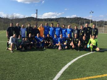 Segon lloc quasi assegurat pel CNO en la Lliga Veterana de futbol