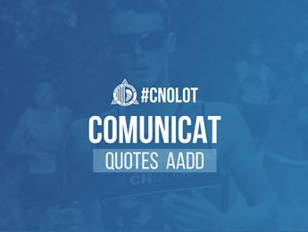 Comunicat relatiu a les quotes per activitats dirigides/cursets