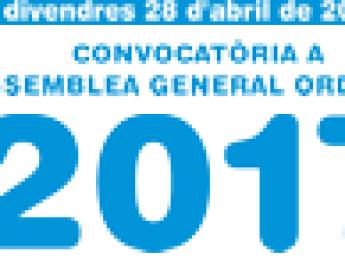 Convocatòria Assemblea General Ordinària 2017