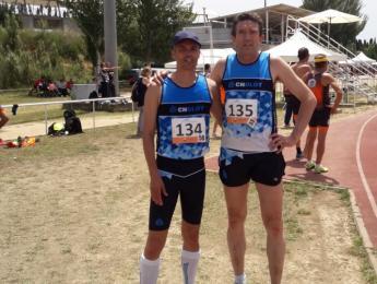Gallart i Padrosa al Campionat de Catalunya Màster de pista a l