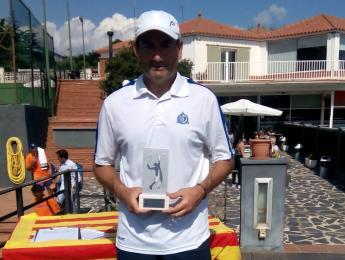 Xavier Prat es proclama campió de Catalunya Sènior +45