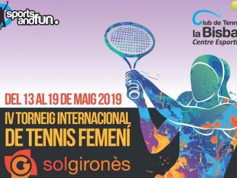 El CNO present al IV Torneig Internacional de tennis femení Sol Gironès