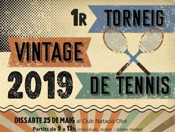 Èxit total en el 1r Torneig Vintage de tennis
