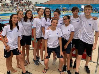 Laia Martínez i Gemma Surroca pujen al podi en el Campionat de Catalunay Infantil d'estiu