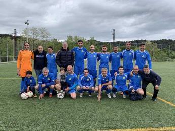 Victòria pel CNO al primer partit de Copa de futbol veterà