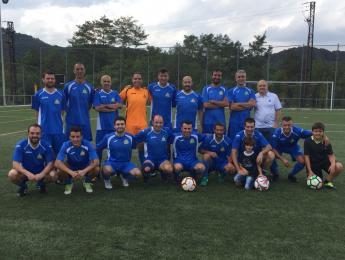 Victòria per l'equip de Futbol del CNO en el primer partit de la temporada