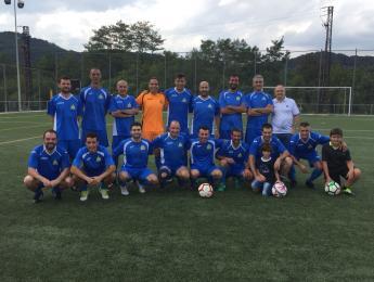 El CNO es manté en les posicions capdavanteres de la Lliga Veterana de futbol