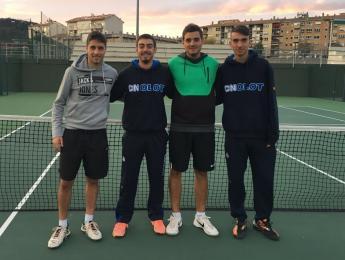 Cap de setmana irregular pel tennis del CN Olot