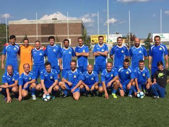 El futbol veterà el CN Olot guanya per 4 a 2 un partit molt disputat i jugat amb molta força contra el Sant Roc.
