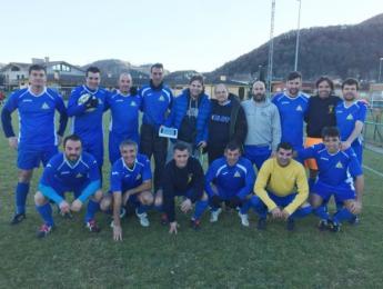 El futbol veterà del CNO guanya per 5 a 1 al CP Santa Pau