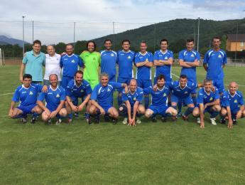 El CNO campió de la Copa de veterans de futbol de La Garrotxa