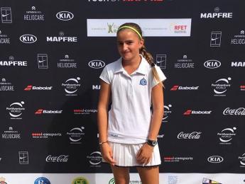 Ivet Prat participa al circuit juvenil del Rafa Nadal Tour de Bilbao