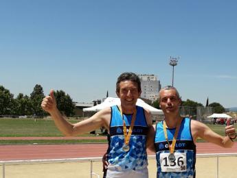 Gallart i Padrosa, veterans de plata en el Campionat de Catalunya d