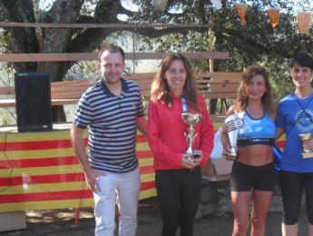 Bones posicions pels atletes del CNO en la XXVIII Pujada a Sant Ferriol