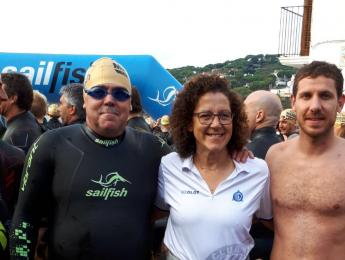 4 nedadors del CNO a la Radikal Marbrava de Calella a Llafranc