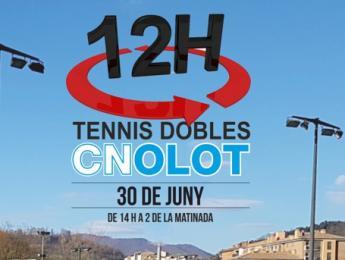 Tornen les 12 hores de Tennis del CN Olot amb un nou format
