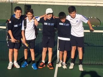 Bon cap de setmana pel tennis del CN Olot