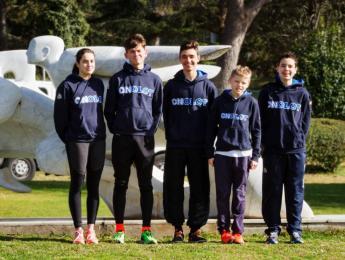 Cinc atletes del CNO participen en el CAR en el programa de tecnificació de la Federació Catalana de Triatló