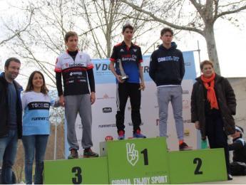 Segona posició de Joan Reixach a la V Duatló de Girona en Categoria Cadet.