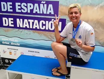 Doble podi per Josep Balcells i Vanessa Aguilera al Campionat d'Espanya d'estiu màster